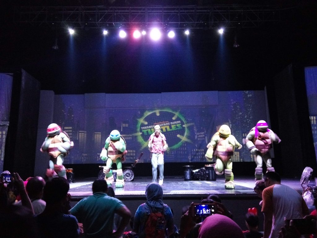 Teenage Mutant Ninja Turtle kegemaran anak-anak
